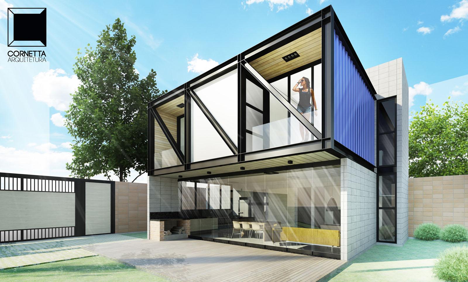 loft ac cornetta arquitetura. Black Bedroom Furniture Sets. Home Design Ideas