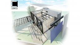 projeto arquitetonico, loft, estrutura metalica, sobrado, casas prefabricadas, fachadas, fachadas de casas pequenas, fachadas de sobrados