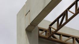 casas premoldadas, casas prefabricadas, concreto aparente, telhado metalico