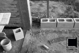 casa, casas, viga metálica, estrutura metálica, bloco aparente, bloco de concreto, concreto aparente