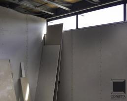 cornetta, steel, steel frame, steel framing, steel frame, steel framing, light steel frame, light steel framing, dry wall, drywall, gesso