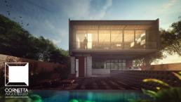 casas alto padrão, alto padrao, casas ecologicas, casas concreto aparente, fachada, sobrados, arquitetura