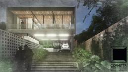 cornetta, arquitetura, modelos, fachadas, sobrados, concreto aparente, prefab houses, prefab homes, precast concrete, architecture, casas modernas