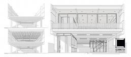 escritorio, arquitetura, casas prefabricadas, sobrado, concreto, estruturas metalicas