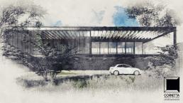 arquitetura, fachada, sobrado, estruturas metalicas, loft, pre fabricação