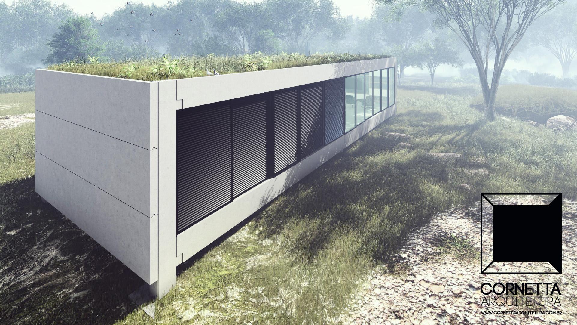 Loft 001 cornetta arquitetura for Casas minimalistas pequenas