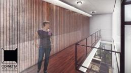 cornetta, arquitetura, wood, house, home, mezanino, madeira, assoalho, concreto aparente