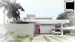 fachadas, modelos, sobrados, cornetta, arquitetura, casas premoldadas, casas prefabricadas, concreto aparente, alto padrão
