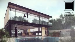 cornetta, arquitetura, architecture, casas estruturas metalicas, estrutura metalica, casas modernas, fachadas, sobrados, casas modernas, casas ecologicas