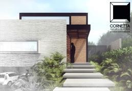 cornetta, arquitetura, architecture, casas estruturas metalicas, estrutura metalica, casas modernas, fachadas modernas, fachada, sobrado, escada, concreto aparente