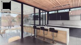 cornetta arquitetura, casas modernas, estrutura metalica, estruturas metalicas, varandas, varanda gourmet, cozinha integrada, area de lazer
