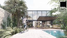 fachadas casas modernas, casas ecologicas, casas prefabricadas, concreto, precast concrete, prefab houses, ubatuba