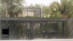 cornetta, arquitetura, casas modernas, fachadas, minimalistas, estrutura metalica, estruturas metalicas, concreto aparente, ubatuba, são paulo, praia