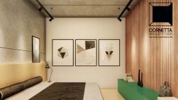 cornetta arquitetura, cornetta, arquitetura, casas de concreto, concreto aparente, pré moldados, suite, suite master,madeira,ripado