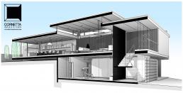 cornetta, arquitetura, architecture, revit, bim, perspectiva