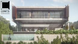 cornetta arquitetura, arquitetura, casas modernas, casas minimalistas, concreto aparente, minimalismo, modernismo, pré fabricados, prefabricados, prefabricadas, prefab, prefab houses, casa minimalista