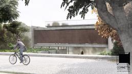cornetta arquitetura, arquitetura, casas modernas, casas minimalistas, concreto aparente, fachadas, terreas