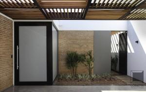 estrutura metálica, estrutura metalica, loft, bloco aparente, madeira, casas ecologicas