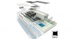 arquitetura, modelo de casa, casas modernas, modelos de casas, sobrado, estrutura metalica, estruturas metalicas, casa gourmet, plantas de casas 3 quartos, modelo de casa