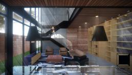 casas prefabricadas, casas ecologicas, sobrado, arquitetura, casas modernas, casas inteligentes, sala, ambientes integrados