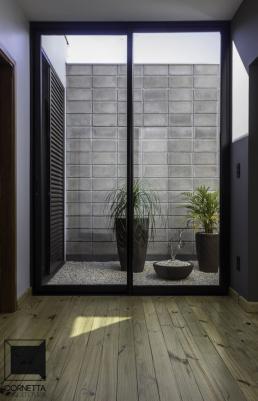 jardim interno, assoalho, madeira, pinus tratado