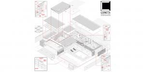 arquitetura, estrutura metálica, metalica, casa de aço, prefabricada, steelframe, steel framing