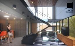 casa prefabricada, casas pre fabricadas, concreto aparente, casas ecologicas