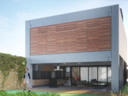 cornetta, arquitetura, sobrado, pré moldado, prefabricada, concreto aparente, sustentabilidade, madeira