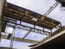 estruturas metalicas, concreto aparente, casas modernas, sobrados