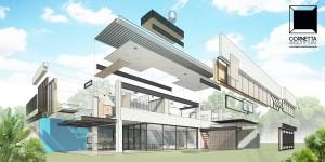 cornetta, arquitetura, casas pré moldadas, casas pre moldadas, concreto aparente, casas pre fabricadas, casas pré fabricadas