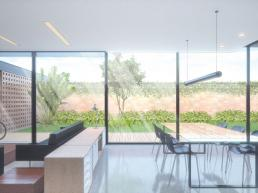 cornetta, arquitetura, casa pre fabricada, casa pre moldada, planta integrada, sala conjugada, planta aberta