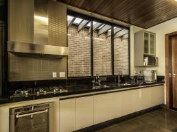 cozinha integrada, bancada, ilha