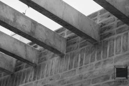pergolado, pre moldado, pré moldado, tijolo, alvenaria, aparente