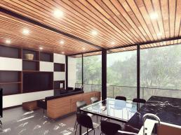 cornetta arquitetura, architecture, prefab, ambientes integrados, ambientes conjugados, casas alto padrão, madeira, concreto aparente, estruturas metalicas, estrutura metalica