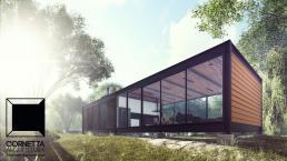 casa de campo, casas de campo, casas pré fabricadas, casas prefabricadas, estruturas metalicas, estrutura metalica, loft, casa sustentavel