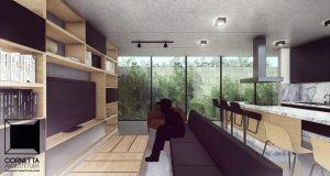 cornetta, arquitetura, loft, lofts, small houses, small homes, prefab houses, casas pre moldadas, casas pre fabricadas, casas pequenas