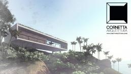 cornetta arquitetura, architecture, prefab, houses, loft, lofts, pré moldados, concreto aparente, casas de praia