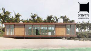cornetta, arquitetura, lofts, aço corten, estruturas metalicas, casas de praia