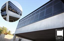 cornetta, fachadas, casas modernas, concreto aparente, estruturas metalicas, estrutura metalica, vidro
