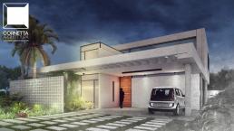 fachadas, sobrados, cornetta, arquitetura, casas premoldadas, casas prefabricadas, concreto aparente, alto padrão