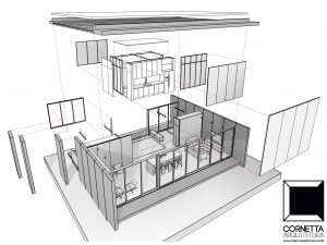 casa de campo, casa de praia, casa pequena, casas compactas, lofts, painel sip, paineis sip, prefab houses, precast concrete