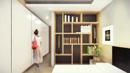 cornetta arquitetura, casas modernas, casas prefabricadas, casas prmeoldadas, concreto, madeira, suite, suíte