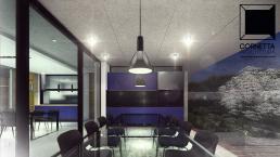 varanda gourmet, lazer, cornetta, arquitetura, casas premoldadas, casas prefabricadas, concreto aparente, alto padrão