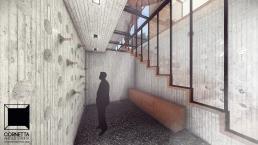cornetta, arquitetura, architecture, casas estruturas metalicas, estrutura metalica, casas modernas, adega, concreto aparente, concreto ripado