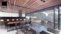 cornetta, arquitetura, architecture, casas estruturas metalicas, estrutura metalica, casas modernas, varanda gourmet, area de lazer, piscina, deck