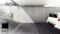 cornetta, arquitetura, architecture, casas estruturas metalicas, estrutura metalica, casas modernas, concreto aparente, concreto ripado, garagem, fachada