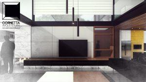 cornetta, arquitetura, architecture, casas estruturas metalicas, estrutura metalica, casas modernas, sobrado, alto padrão