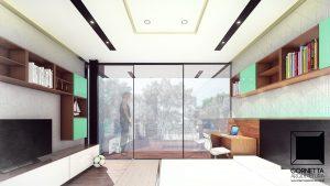 cornetta, arquitetura, architecture, casas estruturas metalicas, estrutura metalica, casas modernas, dormitórios, suites