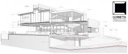 cornetta arquitetura, arquiteto, projetos, casas modernos, estrutura metálica, estruturas metalicas, sobrados, modelos