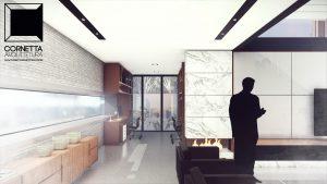 cornetta, arquitetura, architecture, casas estruturas metalicas, estrutura metalica, casas modernas, lareira, sala estar, pé direito alto, concreto aparente, casas modernas